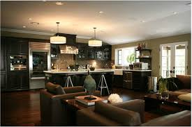 living room design small kitchen