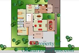 Ghana House Plans   Ransford house plan Ground FloorRansford house plan Ground Floor