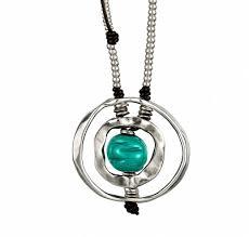 Купить Ожерелье «Dead calm» Зеленый - <b>Uno de 50</b>