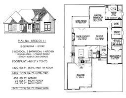 bedroom house plans  Two bedroom house and House plans on Pinterest