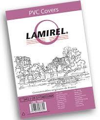 <b>Обложки Lamirel Transparent</b> A4, PVC, прозрачные, 150мкм