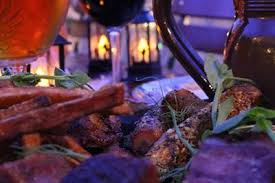 <b>Halloween</b> dinner during the <b>autumn holiday</b> at Lalandia in Billund