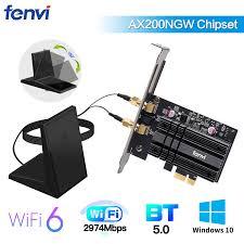<b>Dual Band 2400Mbps Wireless</b> PCI E Wi fi <b>Adapter WiFi</b> 6 Intel ...