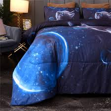 <b>Bedding</b> & Linen 3D Animal Cat and Dog Design Printed Queen ...