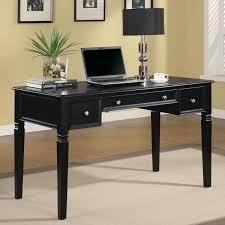 furniture outlet computer desk writing desk computer storage built in power strip office furniture coaster 800913 black office desk