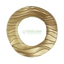 <b>Тарелка Nachtmann Тарелка круглая</b> 22 см золотая sahara ...