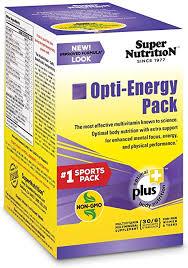 SuperNutrition, Opti-Energy Multi-Vitamin Pack, High ... - Amazon.com