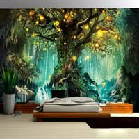 Discount Wall <b>Painting Trees</b> Photo