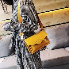 Casual <b>Women Messenger Bags</b> Fashion Pure Color Hasp <b>Women</b> ...