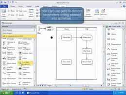 uml tutorial  activity diagram with visio   youtube