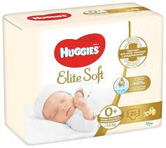 <b>Huggies подгузники Elite</b> Soft 0 (до 3,5 кг) 25 шт. — купить по ...