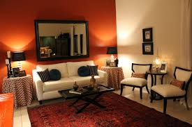 living room paint ideas orange accent wall paint colors for modern living room white and orange sofa sets burnt orange living room furniture