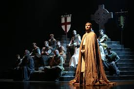 theater review dunsinane national theatre of scotland and the the ensemble cast of david grieg s dunsinane an imagined sequel to shakespeare s macbeth from the