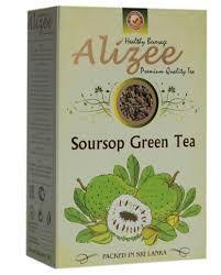 <b>Чай</b> зеленый листовой с саусепом <b>Alizee</b> Soursop <b>Green Tea</b> 100 ...