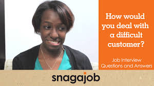 job interview questions and answers part how would you deal job interview questions and answers part 12 how would you deal a difficult customer