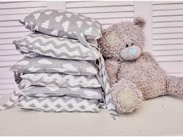 <b>Бортики Mama Relax</b>, Зефир серый - купить в детском интернет ...