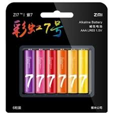 <b>Батарейка AAA Xiaomi</b> ZMI AA706 (6 шт) купить в интернет ...