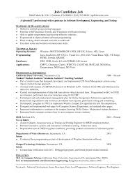 programmer resume template programmer analyst best x cover letter gallery of programmer resume