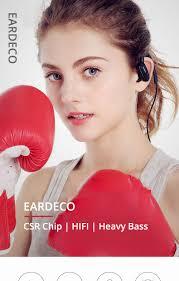 <b>EARDECO</b> Sport Heavy Bass <b>Bluetooth</b> Wireless <b>Headphones</b> For ...