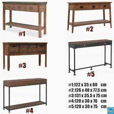 vidaXL <b>Side Table Vintage Style</b> Metal 87x34x73cm Gold Furniture ...