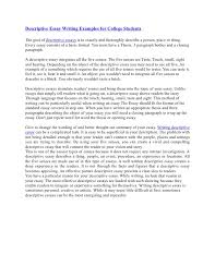 descriptive essay topics for college  compucenter codescriptive essay writing examples for college studentsdescriptive essay writing examples for college students the goal of