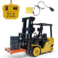 Big Size 1:8 <b>11CH RC</b> Forklift Truck Crane RTR Engineer <b>Vehicle</b> ...