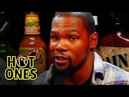 <b>Kevin Durant</b> Sweats It Out Over Spicy Wings | Hot Ones - YouTube