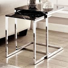 marble dining table adecc: furniture of america sherise contemporary faux marble nesting table