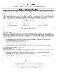 educational resume examples  example director of education resume    example director of education resume   free sample