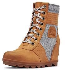 SOREL - <b>Women's</b> Lexie Wedge Waterproof Lace-Up <b>Ankle Boot</b>