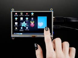HDMI <b>5</b> 800x480 <b>Display</b> Backpack - With <b>Resistive Touchscreen</b> ID ...