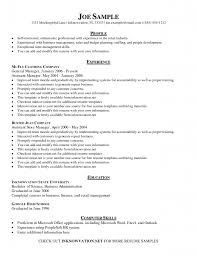 example of general resume perfect customer service resumes examples for job seekers shopgrat best letter samples general cover letter in