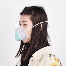 N95 Dust-proof Breathable Silicone <b>Washable</b> Unisex <b>Mask With</b> ...