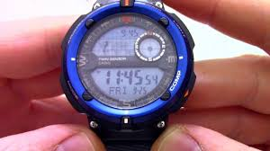 <b>Часы Casio</b> Outgear <b>SGW</b>-<b>600H</b>-<b>2A</b> - видео обзор от ...