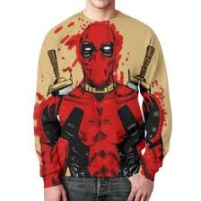 <b>Футболки</b> с принтом Deadpool - <b>Printio</b>