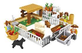 <b>Model building kits compatible</b> with lego city friends happy farm 3D ...