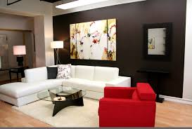 magnificent home interior decorating ideas for modern small living room highlighting elegant white leather sectional sofa astonishing home interior decor
