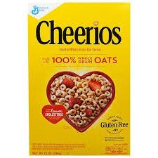 General Mills, Сухой завтрак <b>Cheerios</b>, <b>12</b> унций(<b>340</b> g), цена 351 ...