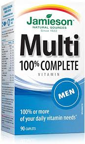 Jamieson 100% Complete <b>Multivitamin for Men</b>: Amazon.ca: Health ...