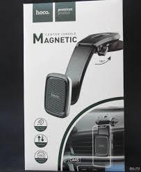 Автомобильный <b>держатель</b> магнитный (<b>Hoco CA45</b>) - Чёрный ...