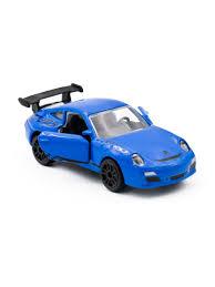 <b>Машинка</b> гоночная PORSCHE 911 GT3, синий, <b>7</b>,<b>5 см Majorette</b> ...