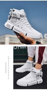 Leader Show <b>Men's</b> Fashion Casual <b>Shoes</b> High Top Sneaker 2019 ...