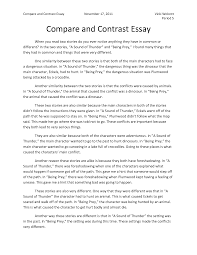 writing a compare contrast essay compareandcontrastexamplebasic  cover letter writing a compare contrast essay compareandcontrastexamplebasicessay comparison and contrast examples