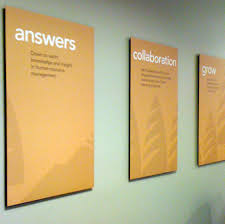 a brand restage on messaging posters for cascade employers association best office posters