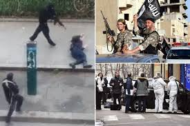 Terror: Were gunmen, left,