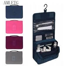 Generic Portable Bathroom Hanging <b>Organizer</b> Toiletry Bag ...