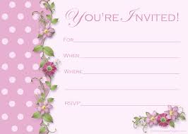 printable party invitations templates anuvrat info birthday invite templates 101 happy printable girl