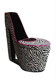 ORE International A High Heel Storage Chair, Black ... - Amazon.com