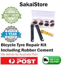 48X Motor Bicycle <b>Bike Tyre</b> Tire Inner Tube Puncture <b>Rubber</b> ...