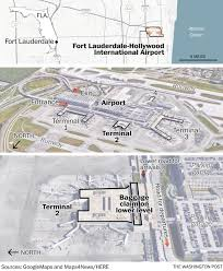 Five killed in Fort Lauderdale airport shooting  suspect in     Washington Post